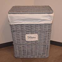 Плетеная корзина для хранения вещей (59х48х36 см.)