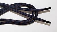 Шнурки 5мм плотные т.синий+т.кор