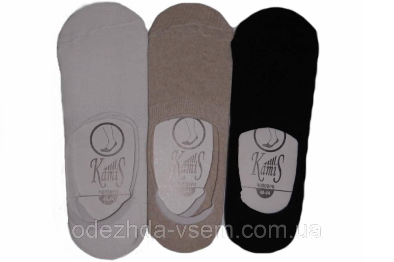 Короткие мужские носки следы