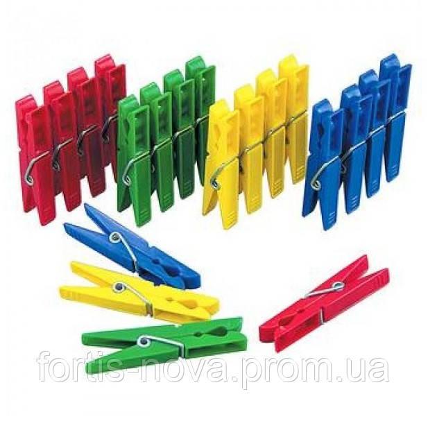 Прищепки бельевые пластиковые Spontex 20 штук