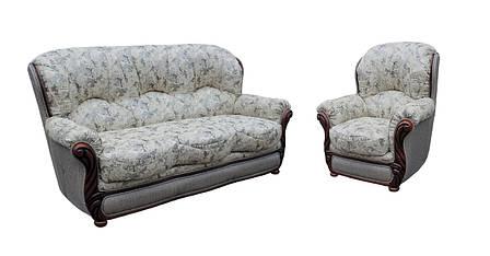 """Комплект кожаной мебели """"Плай"""". (3+1), фото 2"""