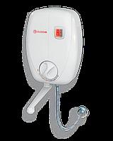 Водонагреватель проточный электрический Eldom Betta 6,5 kw (3+3,5) kw кран