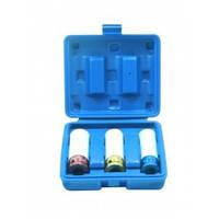 Набор головок для литых дисков с защитным кожухом 3пр. (17, 19, 21мм) в пластиковом кейсе Partner PA-5001