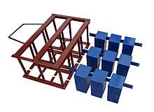 Квадратные пустоты и прижимная рамка