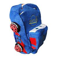 Рюкзак детский, дошкольный - ТАЧКИ-МЕХ,габаритный размер - 30*21*10 см.