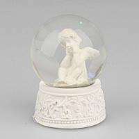 Снежный шар с ангелом SKY001