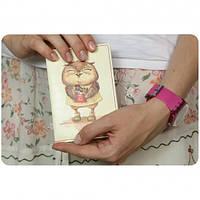 Обложка для паспорта Сладкоежки + блокнот