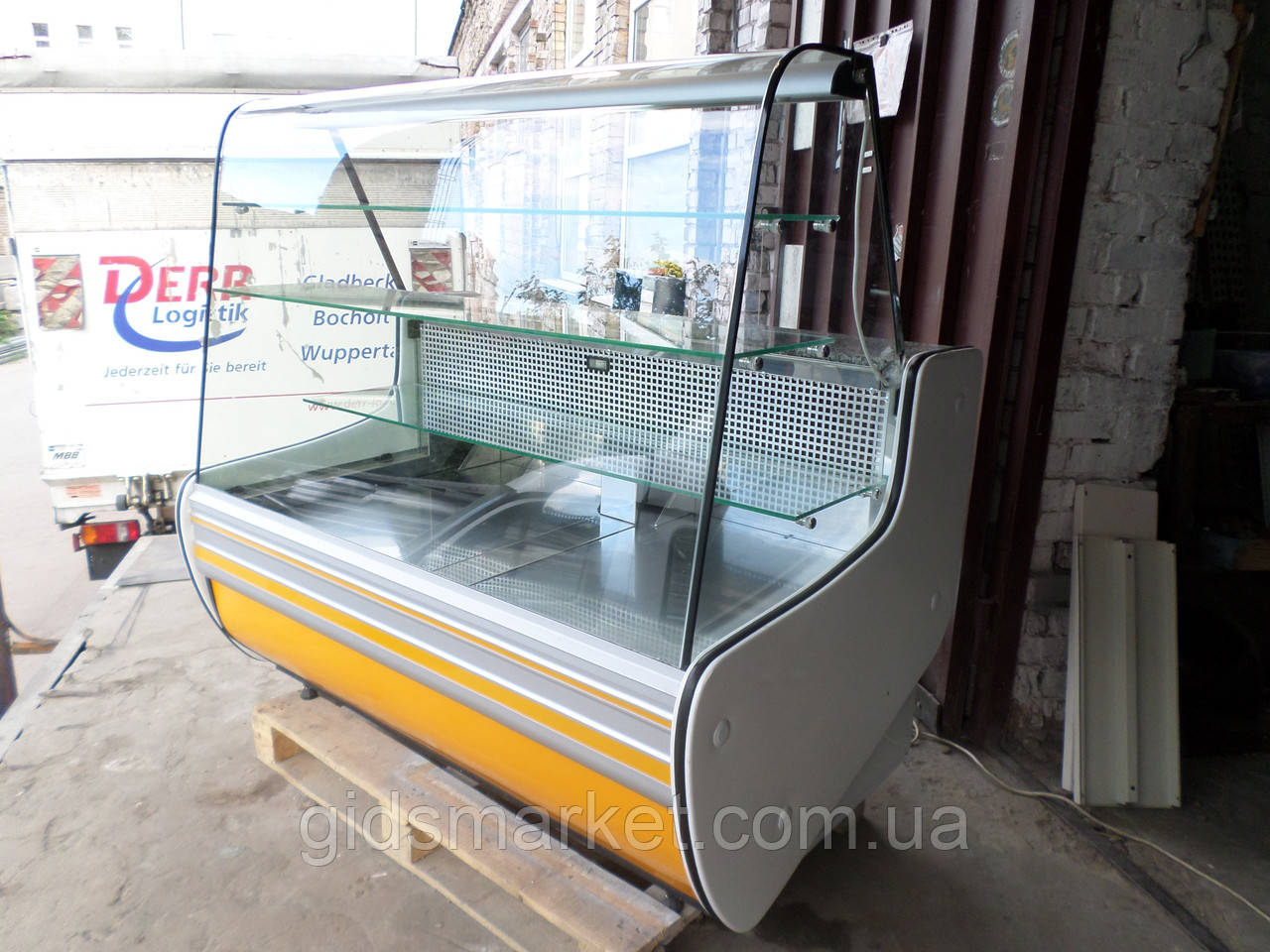 Холодильный кондитерский прилавок COLD  б у, витрина кондитерская б.у.