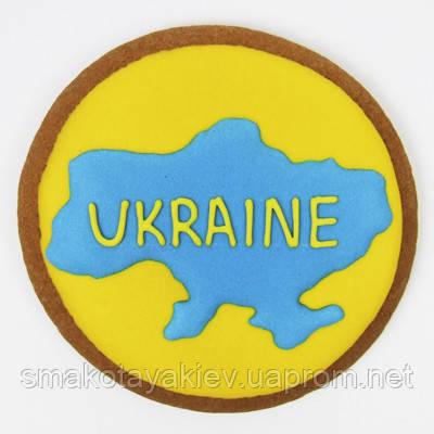 """Пряник """"Карта України"""""""