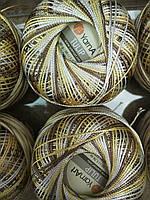 Турецкая летняя пряжа для вязания YarnArt  Tulip (тулип)   454 коричневый меланж