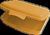 Ланчбокс 0,5 л 155х113х40 мм мандарин