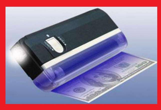 Детектор валют DL 01