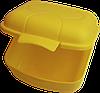 Ланчбокс 0,9 л 125х115х75 мм лимон