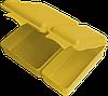 Ланчбокс двойной 2 л 165х220х60 мм лимон