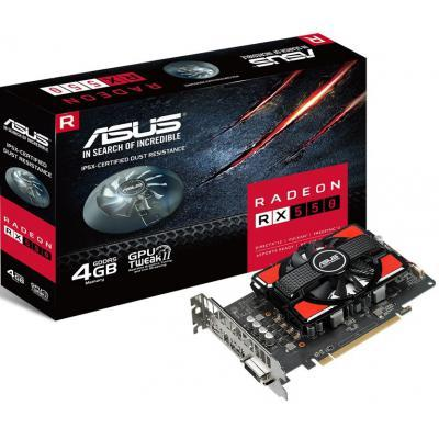Видеокарта Radeon RX 550 4096Mb ASUS (RX550-4G)