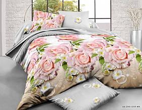 Простыня Ранфорс, расцветки в ассортименте (Евро)