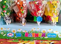 Желейная конфета Мишки на палочке 20 шт (Жувасики)