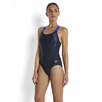 Купальник Speedo Sports Logo Medalist Black Blue