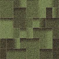"""Битумная черепица AQUAIZOL """"АКЦЕНТ"""" Малахит (зеленый + черный), фото 1"""