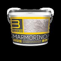 Декоративная штукатурка Brodeco Marmorino 15 кг. Марморино)