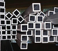 Алюминиевая труба квадратная 25x25x2,3 мм