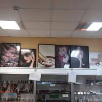 Плакаты для салонов красоты в рамке стекло