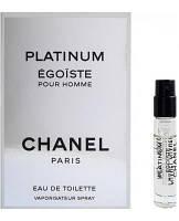 Chanel Egoiste Platinum Vial 2ml