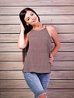 Женская футболка топ Много расцветок p.42-48 VM1992-1
