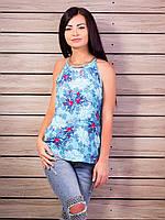Женская футболка топ Много расцветок p.42-48 VM1992-2