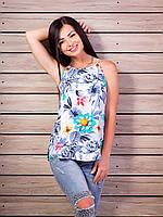 Женская футболка топ Много расцветок p.42-48 VM1992-3