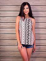 Женская футболка топ Много расцветок p.42-48 VM1992-6