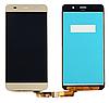 Дисплей (модуль) экран \ матрица + тачскрин (сенсор) для Huawei Y6 2015 | Honor 4A (золотой цвет)