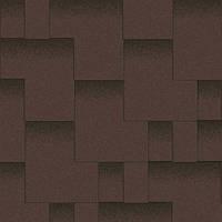 """Битумная черепица AQUAIZOL """"АКЦЕНТ"""" Горный каньон (коричневый с тенью)"""