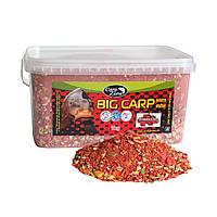 Прикормка CarpZone Big Carp series baits Strawberries 3kg (Клубника)