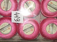 Турецкая летняя пряжа для вязания YarnArt Tulip (тулип) 419 ярко розовый