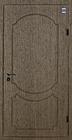 Двери входные металл/МДФ Метр Дор Регион MD 016, 960*2050, L, (лесной орех) 1замок