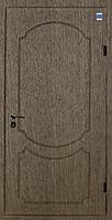 Двери входные металл/МДФ Метр Дор Регион MD 016, 860*2050, R, (венге светлое) 1замок