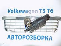 Насос стеклоомывателя VW Volkswagen Фольксваген Транспортер 5 2003-2014