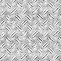 Лист алюминиевый рифленный  дуэт 1,5х1000х2000мм