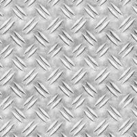 Лист алюминиевый рифленный  дуэт 1,5х1250х2500мм