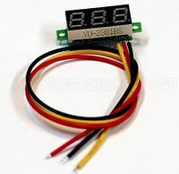 Вольтметр цифровой, 0-100 Вольт LED