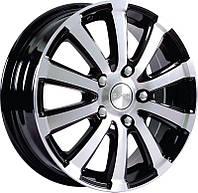 Автомобильный диск, литой SKAD БРИЗ R15H2 W5,5J PCD4x114,3 ET40 DIA66,1 АЛМАЗ