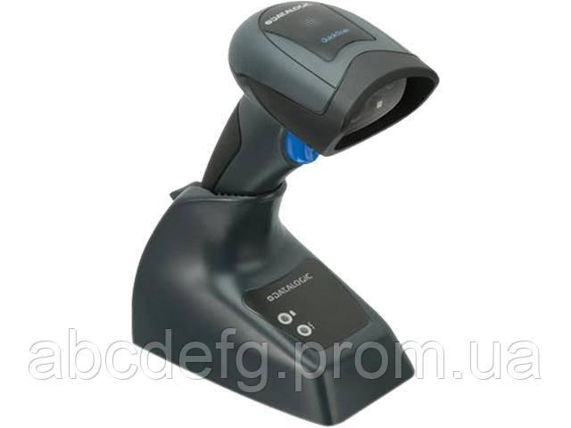 Беспроводной сканер штрих-кода Datalogic QuickScan QBT2400 2D с подставкой (QBT2430-BK-BTK1)
