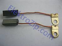 Угольные щетки для российской дрели Саратов 1036; 5х6х16, поводок, ухо (материал В)