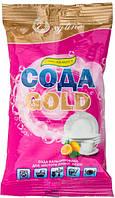Средство для мытья чистки и стирки Oxyline Сода Gold с ароматом лимона 400г
