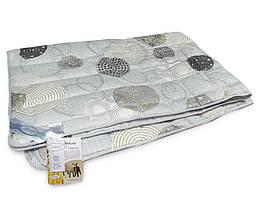 """Одеяло шерстяное облегченное ТМ """"Leleka-Textile"""" сатин/шерсть (200х220)"""