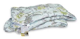 "Одеяло шерстяное стандарт ТМ ""Leleka-Textile"" сатин/шерсть (172х205)"
