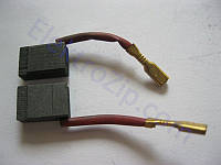 Угольные щетки для перфоратора DeWalt (Девольт); 5x9, поводок, разъем (материал А)