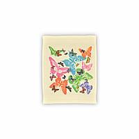"""Салфетка махровая кухонная """"Бабочки"""", 30х40см ,129329 (TK)"""