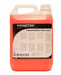 Чернение резины Kenotek Tyre Gloss,5л без силикона и растворителей